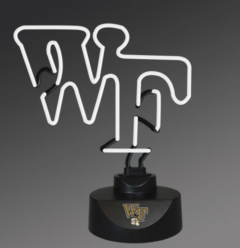 Wake Forest Demon Deacons Team Logo Neon Lamp