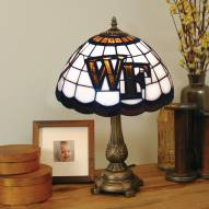 Wake Forest Demon Deacons Tiffany Table Lamp
