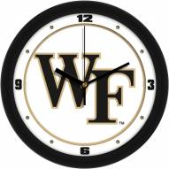 Wake Forest Demon Deacons Traditional Wall Clock