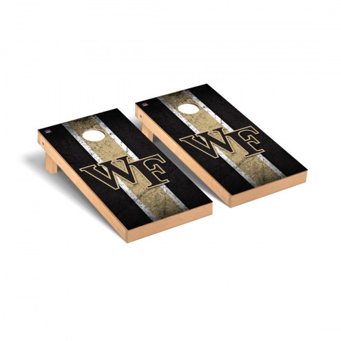 Wake Forest Demon Deacons Vintage Cornhole Game Set