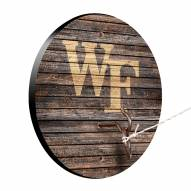 Wake Forest Demon Deacons Weathered Design Hook & Ring Game