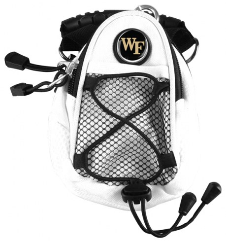 Wake Forest Demon Deacons White Mini Day Pack