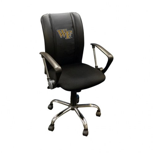 Wake Forest Demon Deacons XZipit Curve Desk Chair