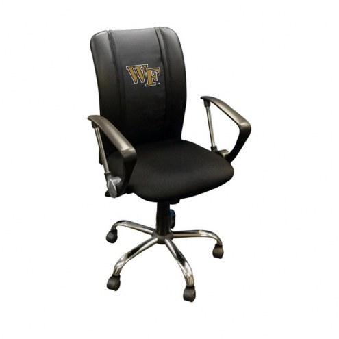 Wake Forest Demon Deacons XZipit Curve Desk Chair
