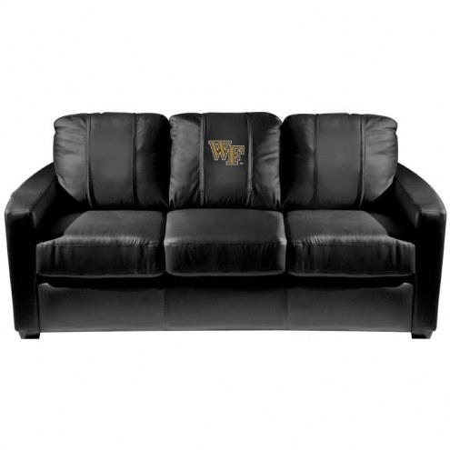Wake Forest Demon Deacons XZipit Silver Sofa