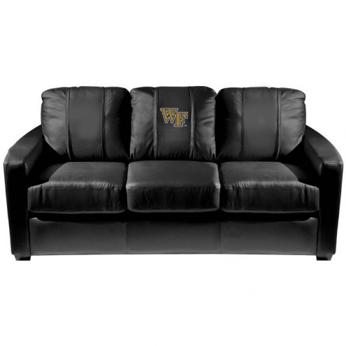 Wake Forest Demon Deacons XZipit Silver Sofa