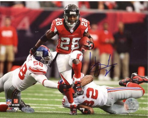 Warrick Dunn Run vs Giants 8 x 10 Photo