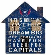 "Washington Capitals 12"" House Sign"