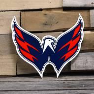 """Washington Capitals 12"""" Steel Logo Sign"""