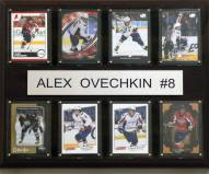 "Washington Capitals 12"" x 15"" Alex Ovechkin 8 Card Plaque"