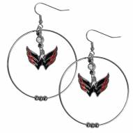 "Washington Capitals 2"" Hoop Earrings"