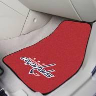 Washington Capitals 2-Piece Carpet Car Mats
