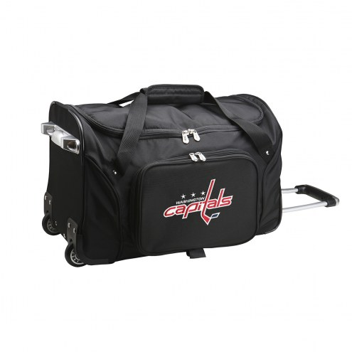 "Washington Capitals 22"" Rolling Duffle Bag"