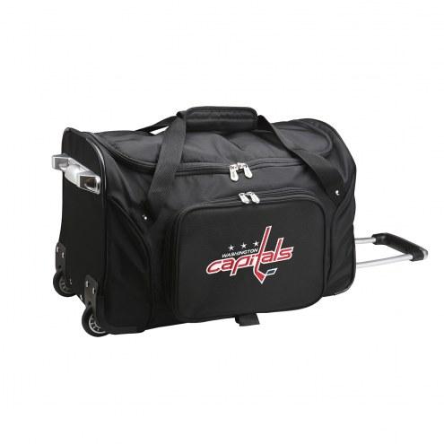 "Washington Capitals 22"" Rolling Duffle Bag"