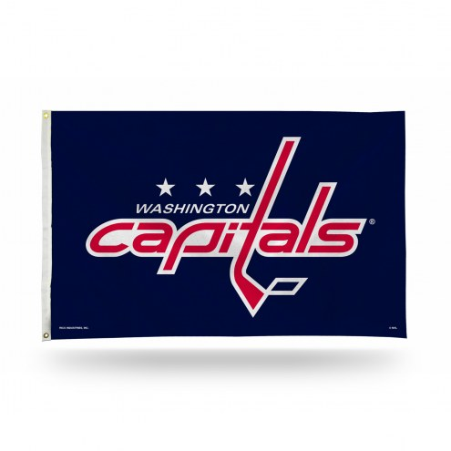 Washington Capitals 3' x 5' Banner Flag