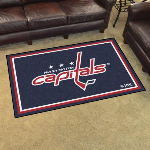 Washington Capitals 4' x 6' Area Rug