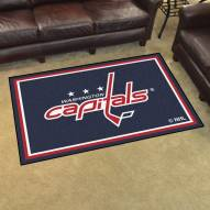 Washington Capitals 4' x 6' Area Rug