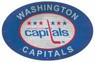 "Washington Capitals 46"" Heritage Logo Oval Sign"
