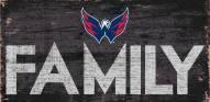 """Washington Capitals 6"""" x 12"""" Family Sign"""