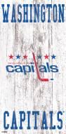"Washington Capitals 6"" x 12"" Heritage Logo Sign"