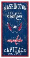 "Washington Capitals 6"" x 12"" Heritage Sign"