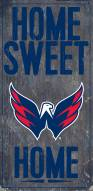 "Washington Capitals 6"" x 12"" Home Sweet Home Sign"