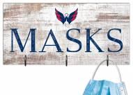 """Washington Capitals 6"""" x 12"""" Mask Holder"""