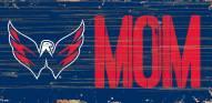 "Washington Capitals 6"" x 12"" Mom Sign"