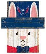 """Washington Capitals 6"""" x 5"""" Easter Bunny Head"""