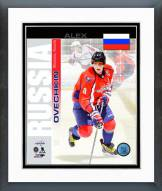 Washington Capitals Alex Ovechkin Russia Portrait Plus Framed Photo