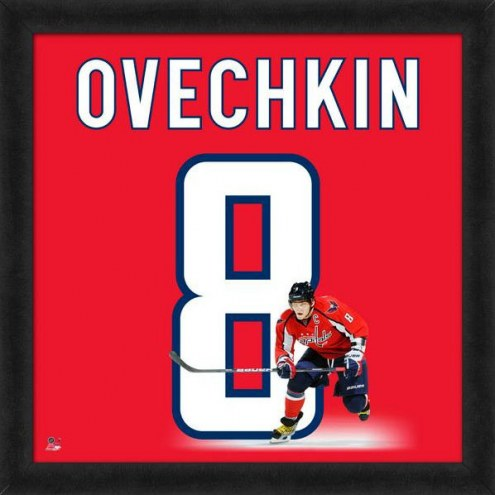 Washington Capitals Alex Ovechkin Uniframe Framed Jersey Photo