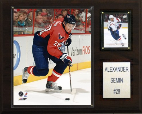 "Washington Capitals Alexander Semin 12"" x 15"" Player Plaque"