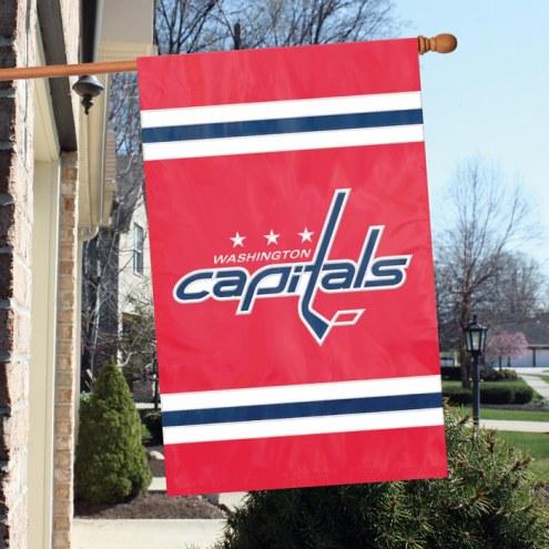 Washington Capitals Applique Banner Flag