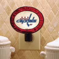 Washington Capitals Art Glass Night Light