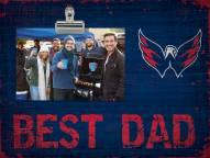 Washington Capitals Best Dad Clip Frame