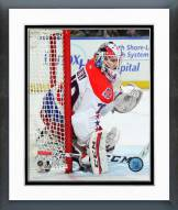 Washington Capitals Braden Holtby Action Framed Photo