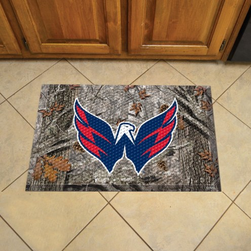 Washington Capitals Camo Scraper Door Mat