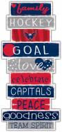Washington Capitals Celebrations Stack Sign