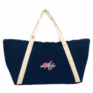 Washington Capitals Chevron Stitch Weekender Bag