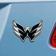 Washington Capitals Chrome Metal Car Emblem