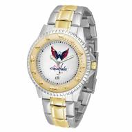 Washington Capitals Competitor Two-Tone Men's Watch
