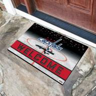 Washington Capitals Crumb Rubber Door Mat
