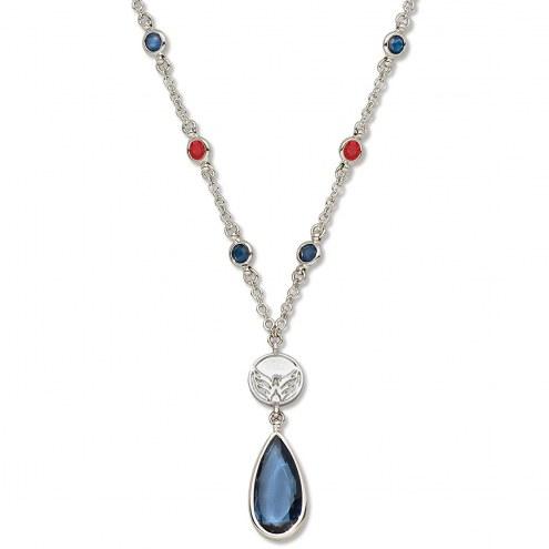 Washington Capitals Crystal Logo Necklace