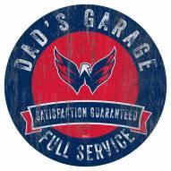 Washington Capitals Dad's Garage Sign