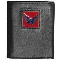 Washington Capitals Deluxe Leather Tri-fold Wallet in Gift Box