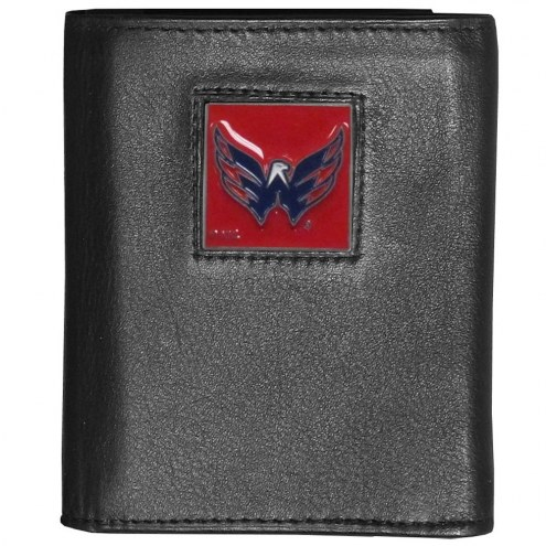 Washington Capitals Deluxe Leather Tri-fold Wallet