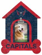 Washington Capitals Dog Bone House Clip Frame