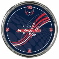 Washington Capitals Dynamic Chrome Clock