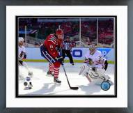 Washington Capitals Eric Fehr Goal Winter Classic Framed Photo