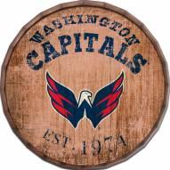 """Washington Capitals Established Date 16"""" Barrel Top"""
